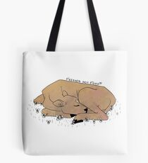 Cows are friends, not food. (coloured) Tote Bag