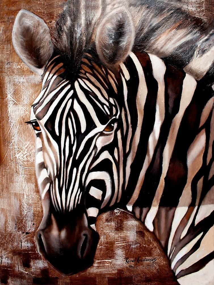 Zebra by KarenKristensen