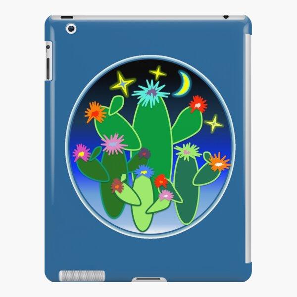 Neon Cacti iPad Snap Case