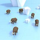 Mammoths by icoradesign