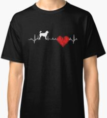 Special Kai Ken Heartbeat Dog T-shirt  Classic T-Shirt