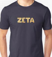 Gold Balloon Zeta Unisex T-Shirt