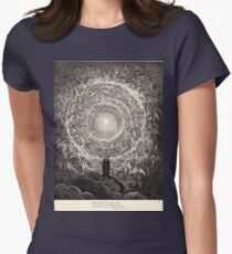 Gustave Dore or Doré  Dante Divine Comedy Paradise 036 Womens Fitted T-Shirt