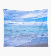 Sunrise Beach Wall Tapestry