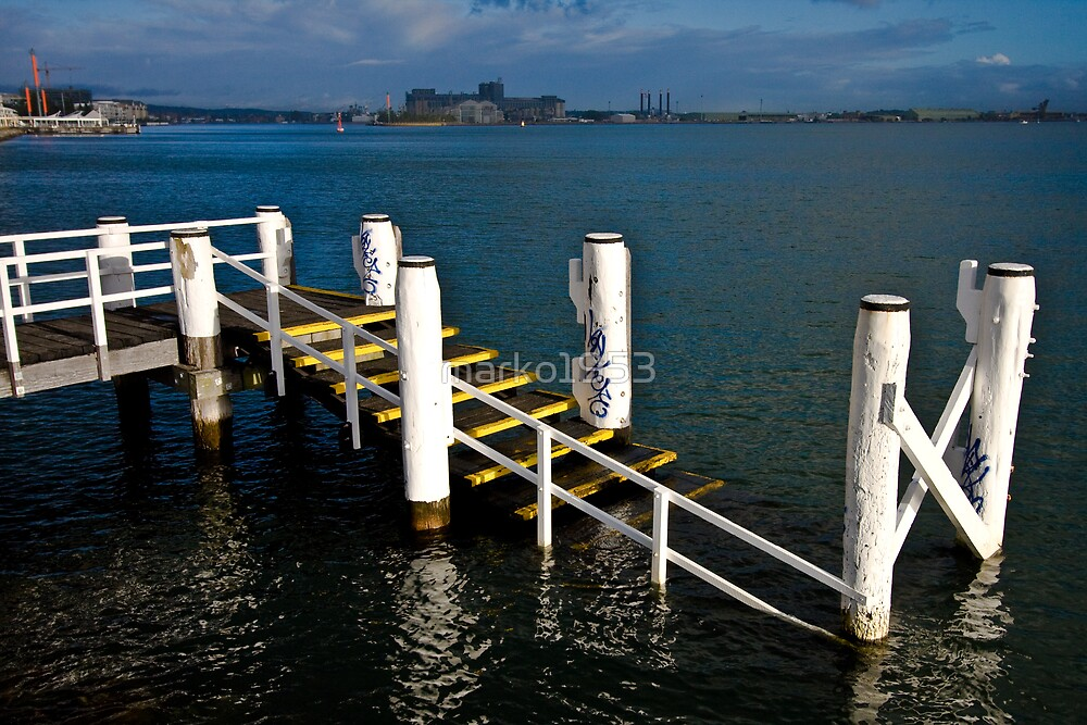 white piers by marko1953
