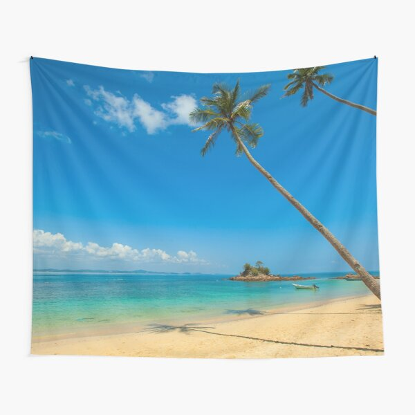 Tropical Palm Trees Tapestry