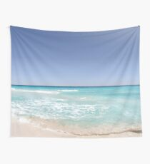 Happy Tropical Place Wall Tapestry