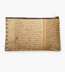 Medieval Manuscript Studio Pouch