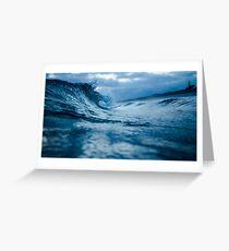 Bigger Waves Greeting Card