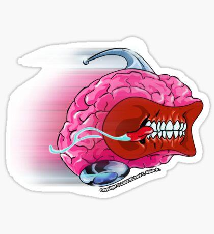 Brain Rush Sticker