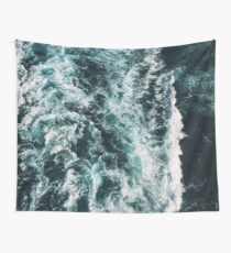 Lovely Waves Wall Tapestry