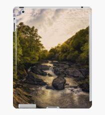River Sunset Snowdonia iPad Case/Skin