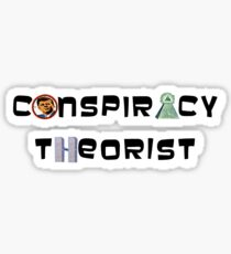 Conspiracy theorist Sticker