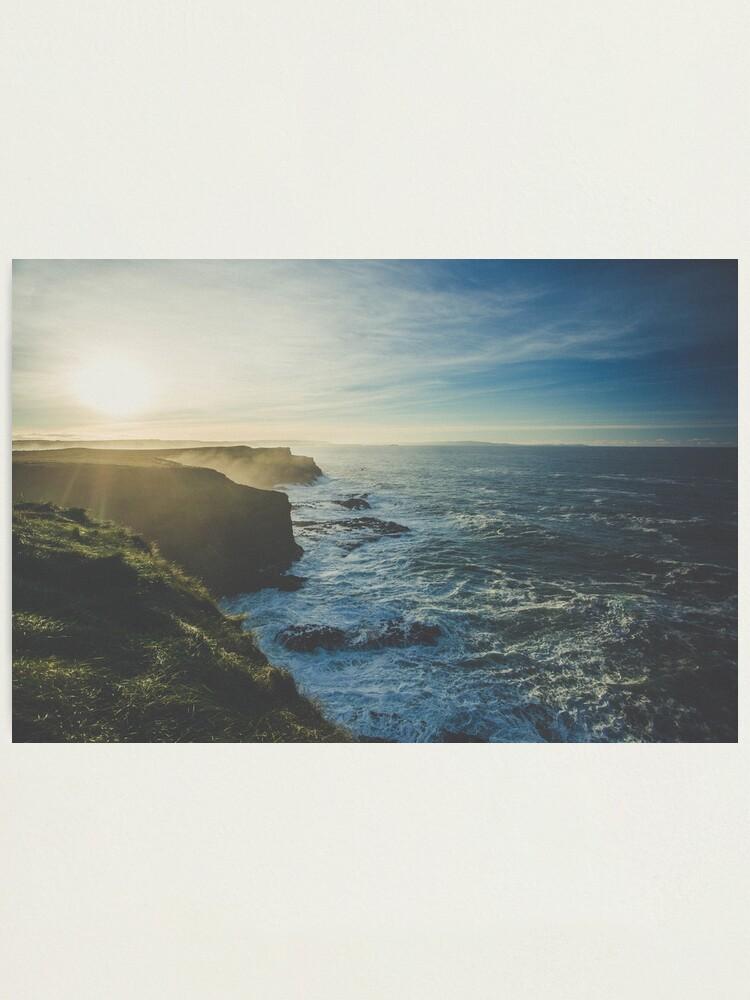 Alternate view of Great Coast Photographic Print