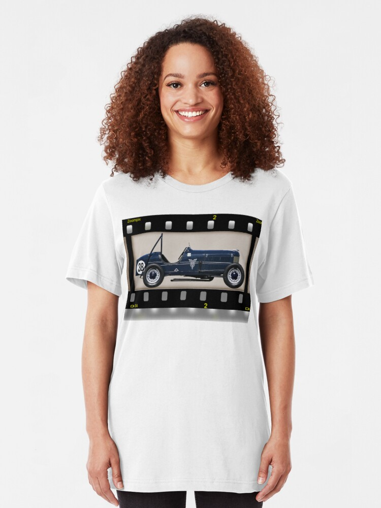 Alternate view of Ford V8 Special Slim Fit T-Shirt