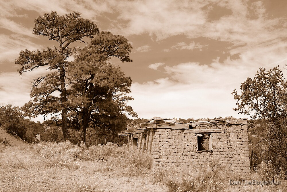 Old Rock house #1 by DanTheBugleMan