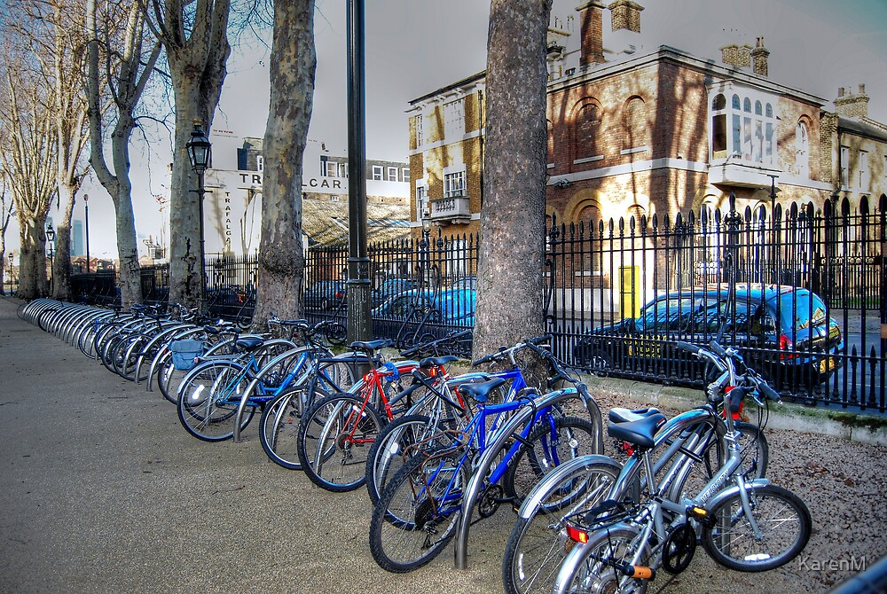 Bicylce Parking by KarenM