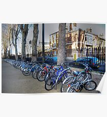 Bicylce Parking Poster