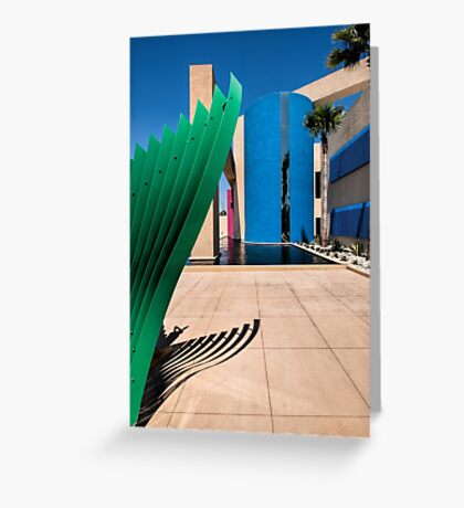 Sculptural Greeting Card