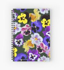 Pansy Mixture Spiral Notebook