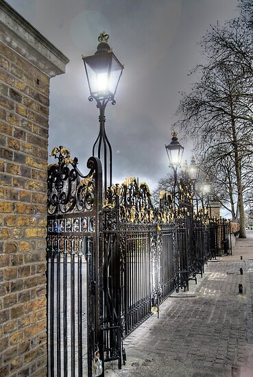 Greenwich Park Gates by KarenM
