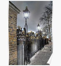 Greenwich Park Gates Poster
