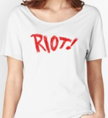 RIOT! Solo (Red) Women's Relaxed Fit T-Shirt