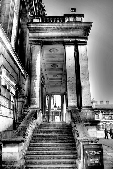 Steps to the Painted Hall by KarenM