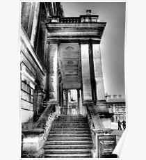 Steps to the Painted Hall Poster