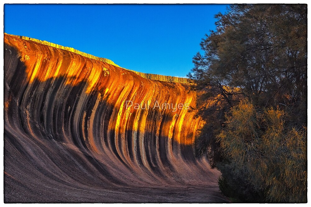 Wave Rock by Paul Amyes