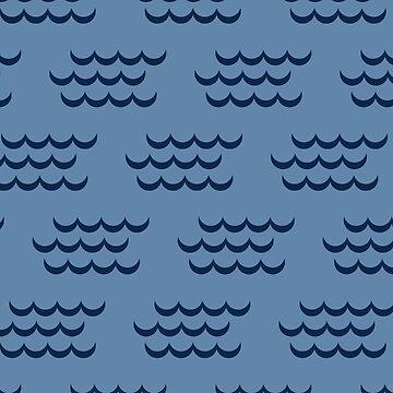 Waves of Waikiki by hamptonstyle