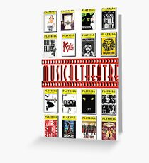 Musical Theatre! Greeting Card