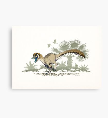 Troodon Canvas Print