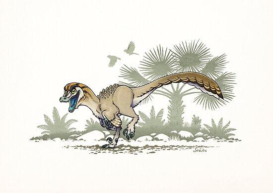 Troodon by stieven