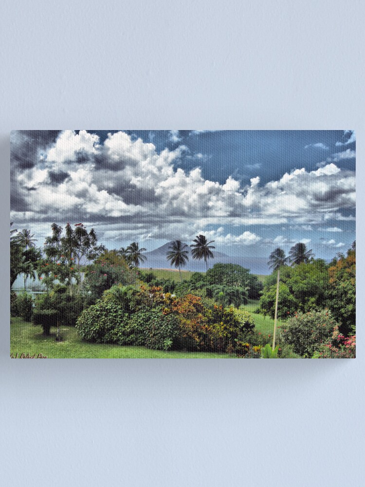 Alternate view of Saba in the Distance Canvas Print