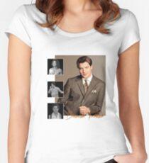 Brendan Fraser : adventurer, pioneer and dreamboat  Women's Fitted Scoop T-Shirt