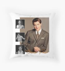 Brendan Fraser : adventurer, pioneer and dreamboat  Throw Pillow