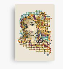 Dotticelli Venus Canvas Print
