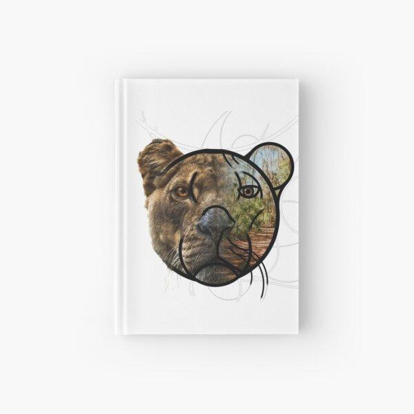 Geometric Lioness Carnet cartonné