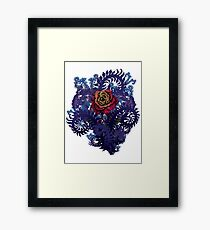 Gothic Rose Framed Print
