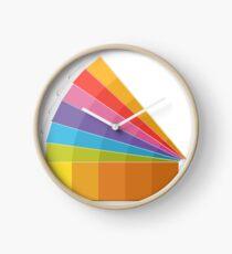 Pantone Palette book color guide Clock