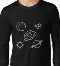 Space Line Art T-Shirt