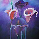 Purple Callas by taiche