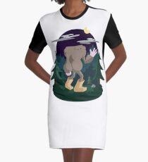 The Legendary Bagfoot Graphic T-Shirt Dress