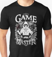 Game Master - White Unisex T-Shirt