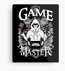 Lienzo metálico Game Master - Blanco