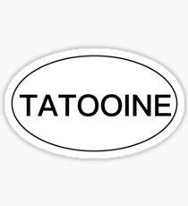 Tatooine Bumper Sticker