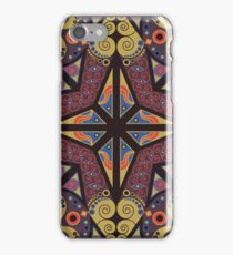 Abstract ethnic ornament iPhone Case/Skin