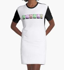 nerds club 2 in chemischen Elementen... T-Shirt Kleid