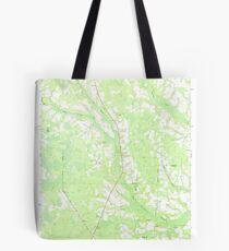 USGS TOPO Map Georgia GA Crawley 245440 1971 24000 Tote Bag
